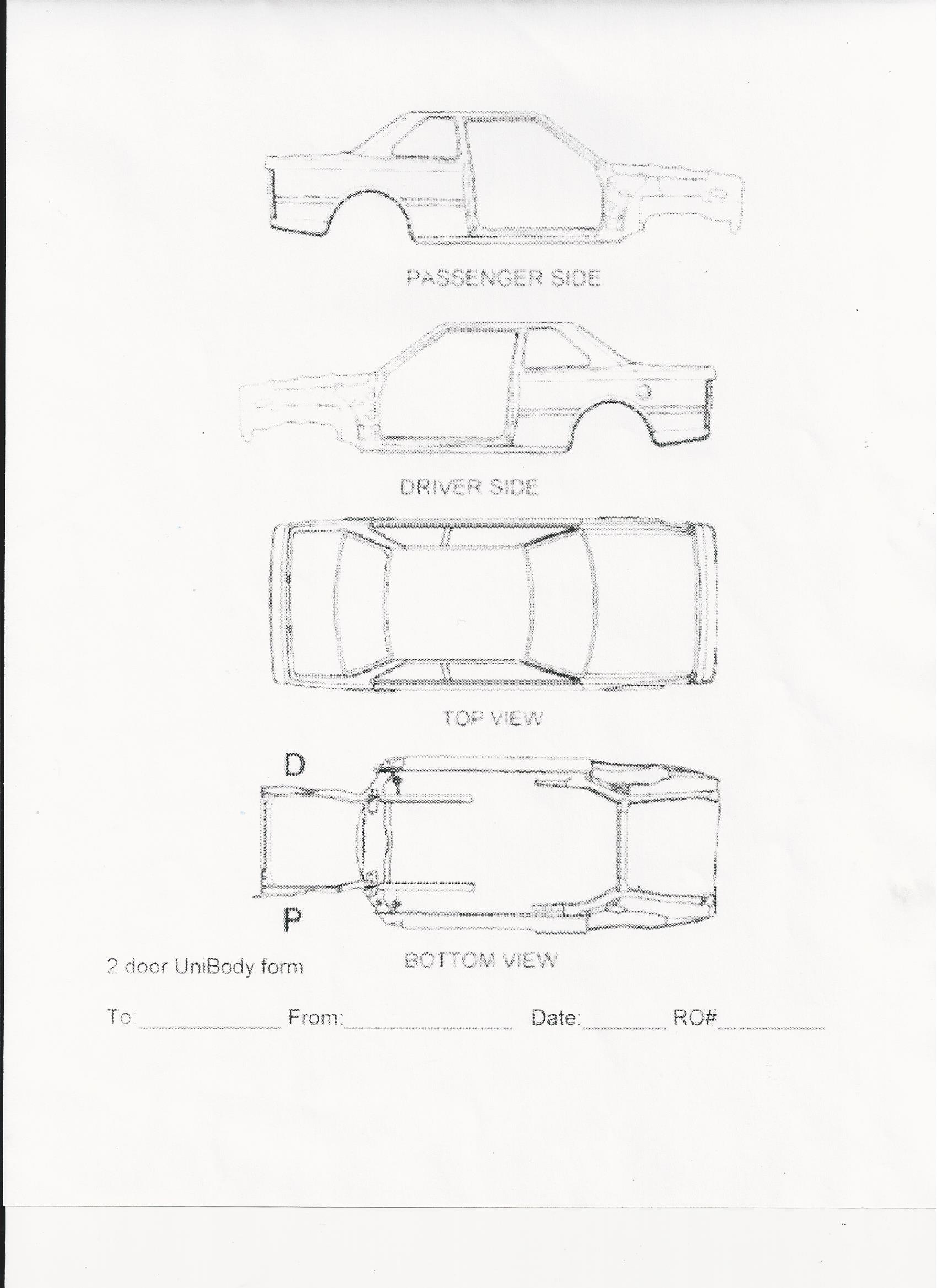 vehicle forms ar1 auto wrecking and sales yakima wa Jeep Top View Diagram vehicle diagrams 2 door